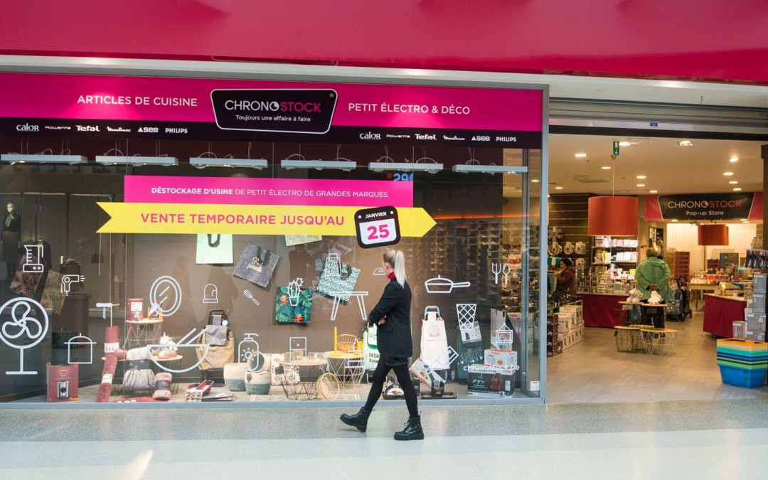 Pop-up stores, réaménagements et nouvelles enseignes à la Médiacité