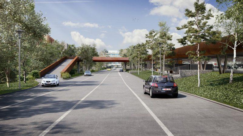 Nouveaux parkings au CHU 2