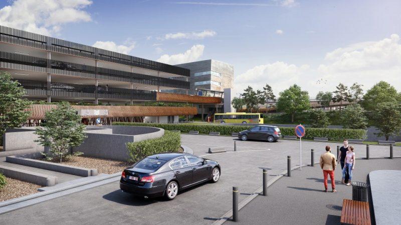 46 millions d'euros injectés dans cinq nouveaux parkings payants au CHU pour mettre fin au stationnement sauvage