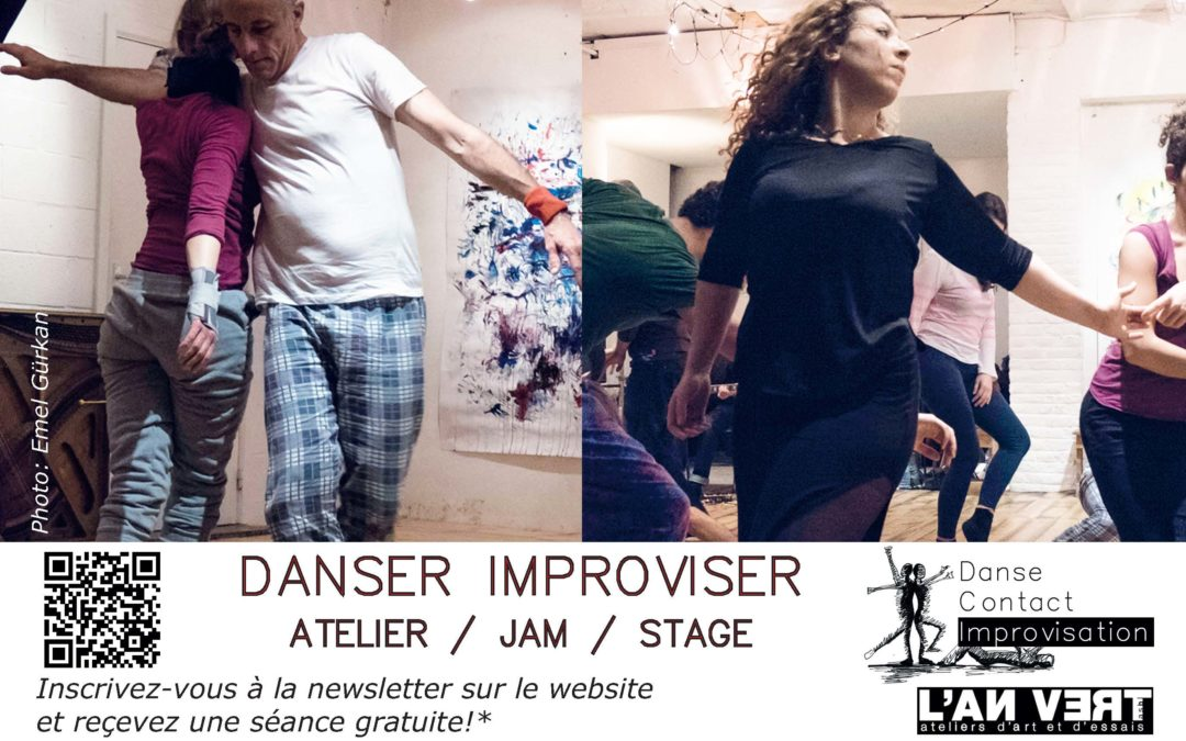 Agenda ► Jam Danse Contact Improvisation