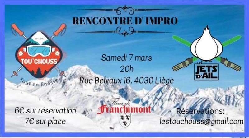 Agenda ► Rencontre Tou'Chouss & Jets d'Ail (Impro)