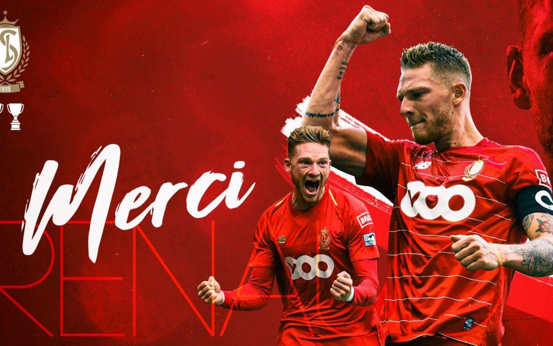 L'attaquant du Standard, Renaud Emond, quitte Liège pour le club de Nantes