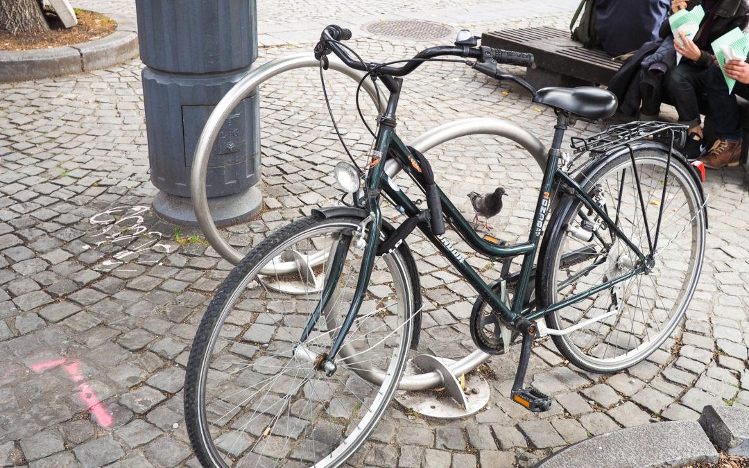 Le nombre de vols de vélos recensés par la police a un peu diminué