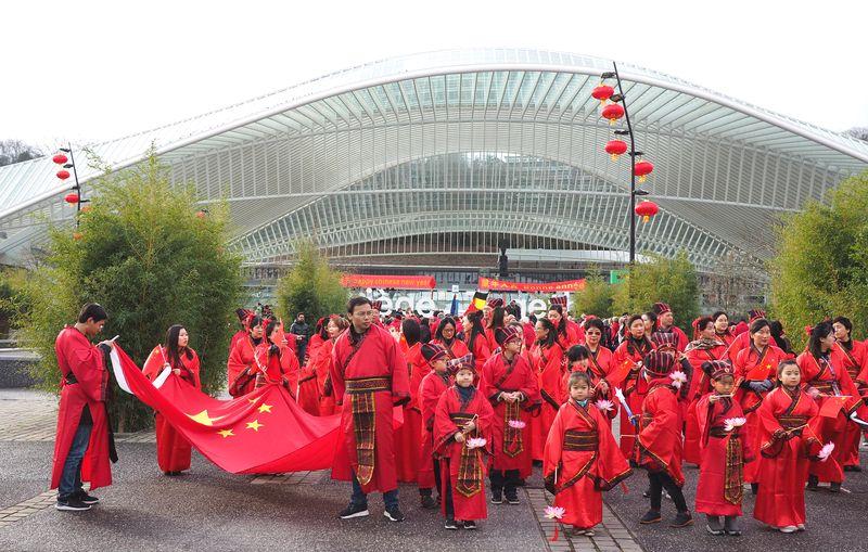 Seuls certains artistes ayant participé au Nouvel An chinois à Liège venaient de la ville atteinte par le coronavirus