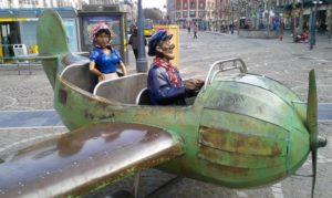 Le Petit Avion A Fait Son Retour Place Saint Lambert
