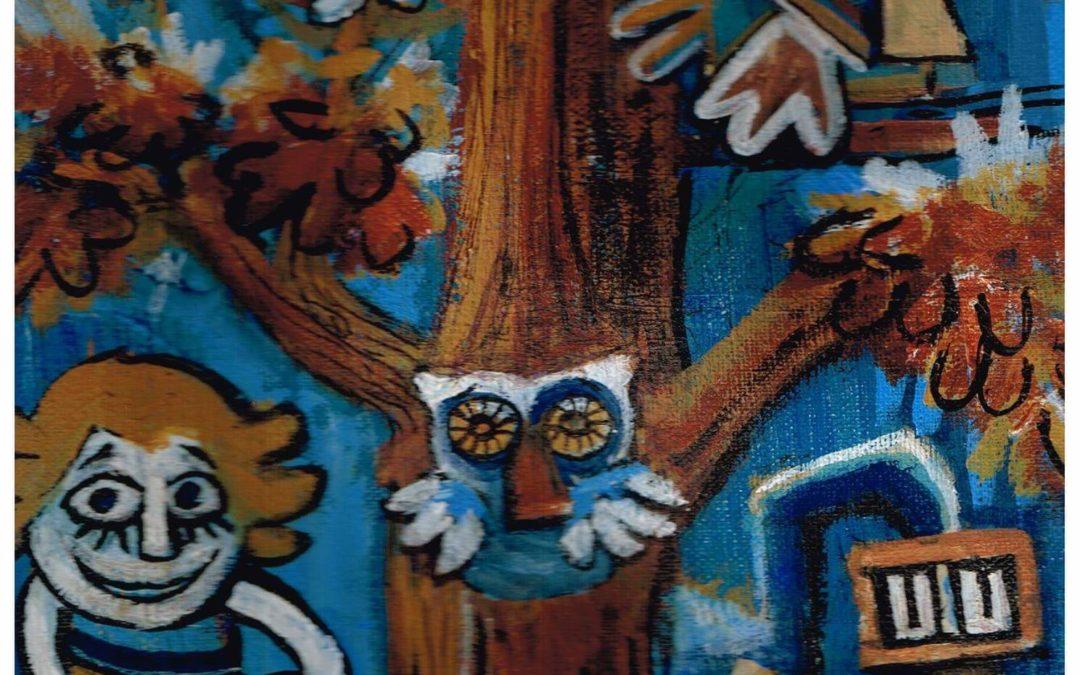 Agenda ► Exposition « Tranche de désert : cœur de loup et fleur de cactus » de Tamahari