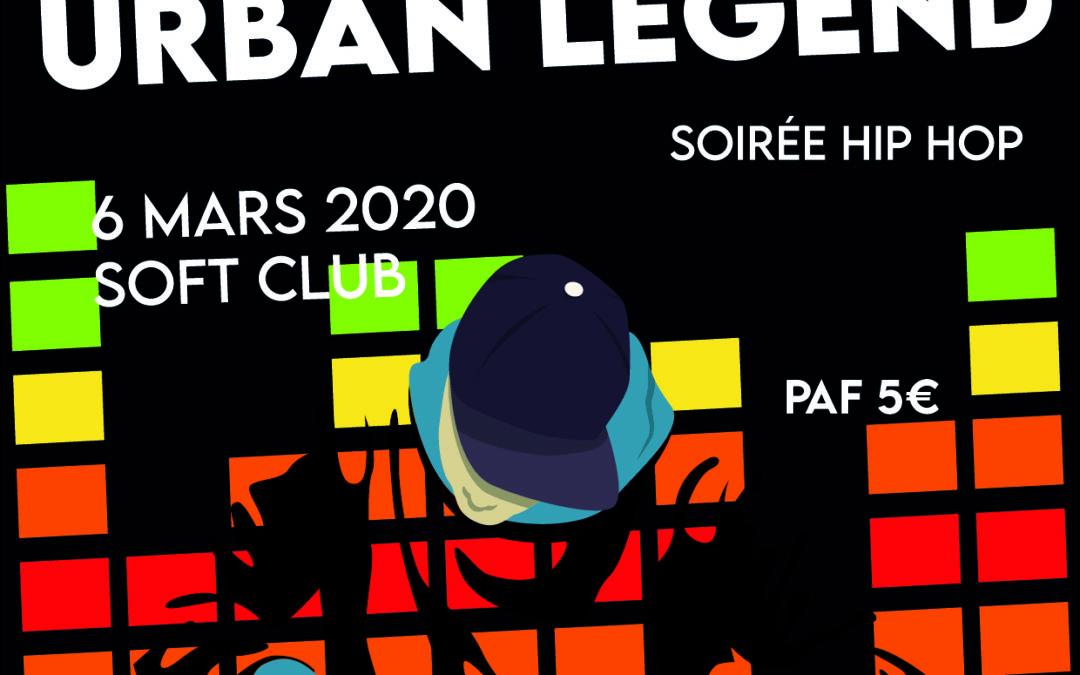 Agenda ► LMJ Store présente : urban legend hip hop old school