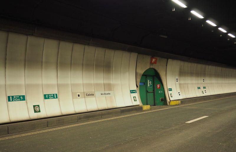 Le tunnel de Cointe fermé hier à cause d'un sapin