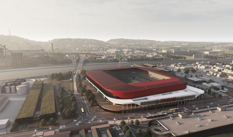 Début de l'enquête publique pour le nouveau stade du Standard: le projet en vidéo