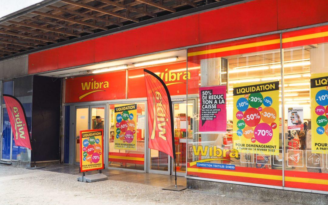 Le magasin Wibra de la rue Féronstrée va déménager