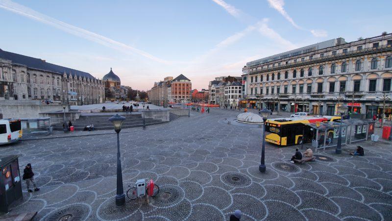 Liège est la ville belge où la qualité de l'air est la meilleure