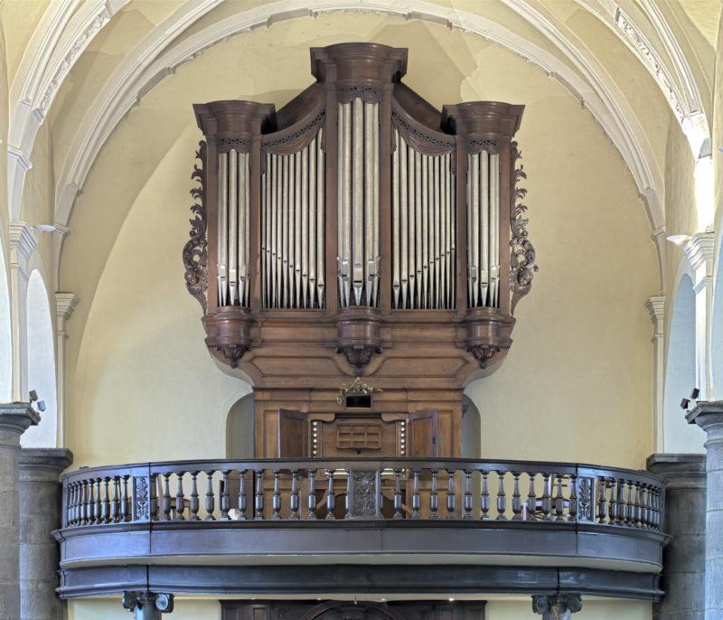 Sept organistes à l'église de Chênée