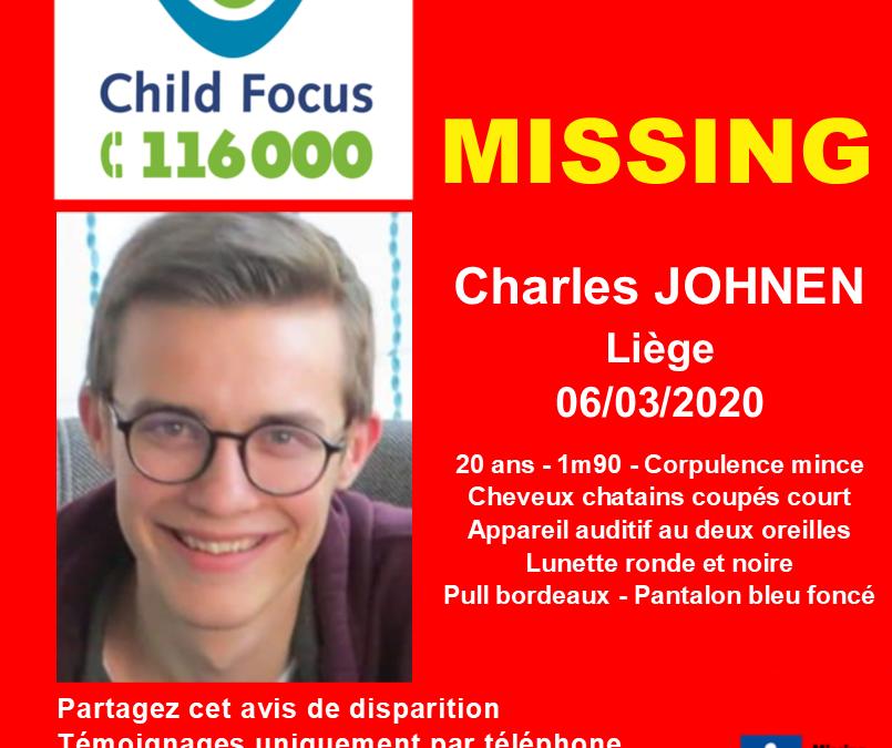 Le corps sans vie de Charles Johnen retrouvé à l'Île Monsin