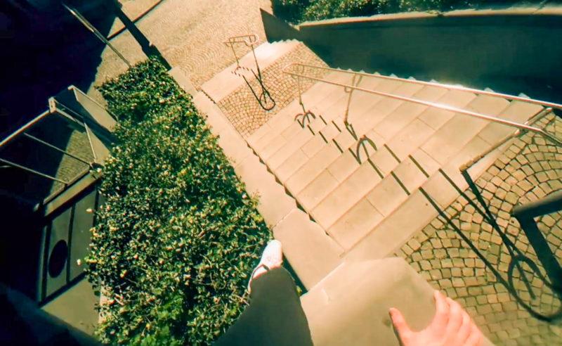 Impressionnante vidéo de parkour tournée dans les rues désertes