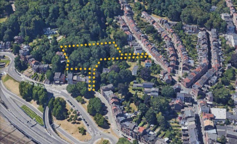 Avis défavorable au projet immobilier avenue de l'Obervatoire à Cointe
