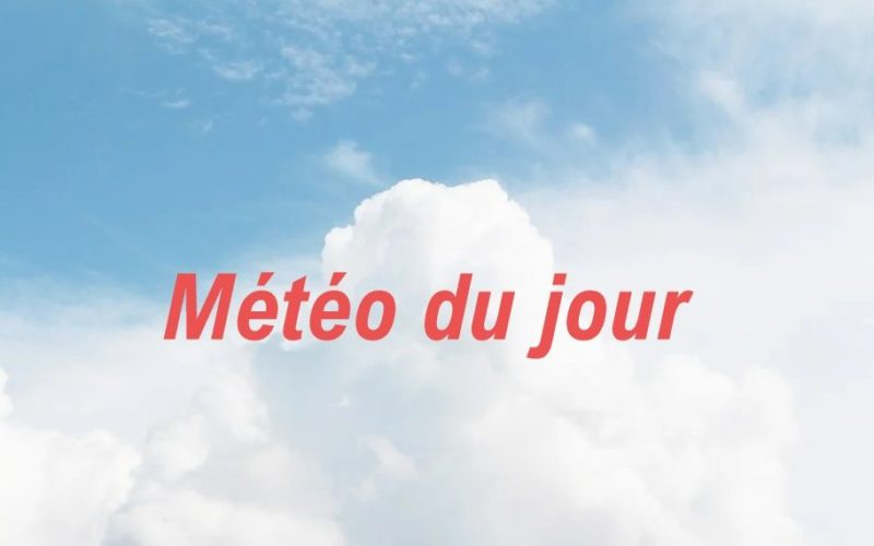Météo: nuages et éclaircies