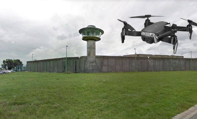 Livraison de stupéfiants par drone à la prison de Lantin