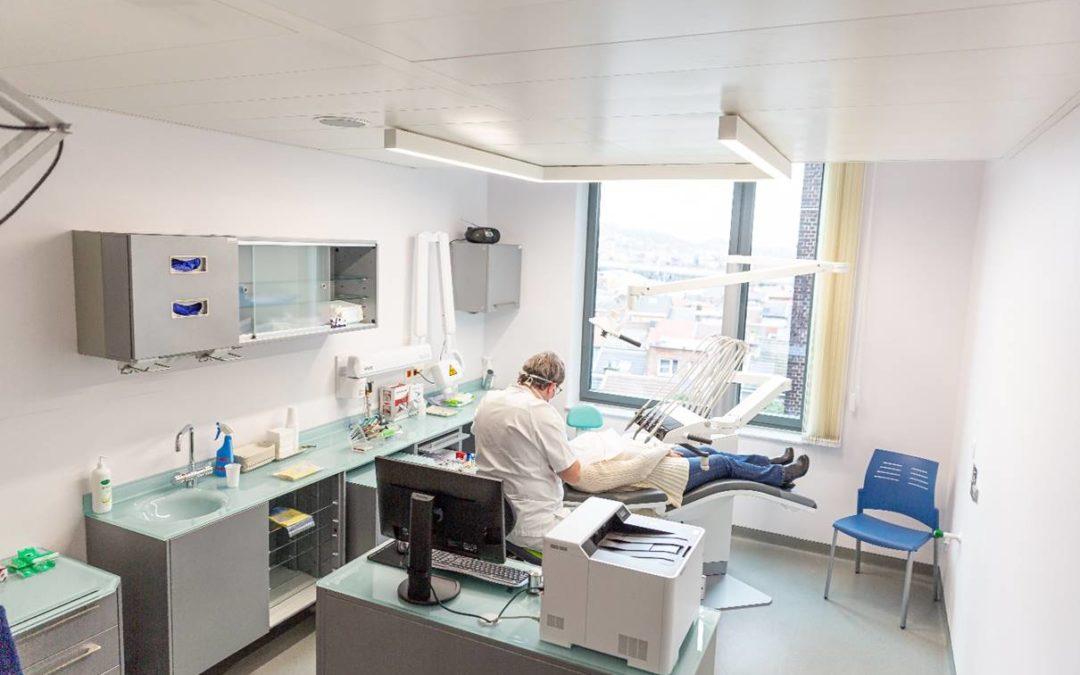 La dentisterie du CHR a déménagé dans le quartier du Laveu à Sainte-Rosalie