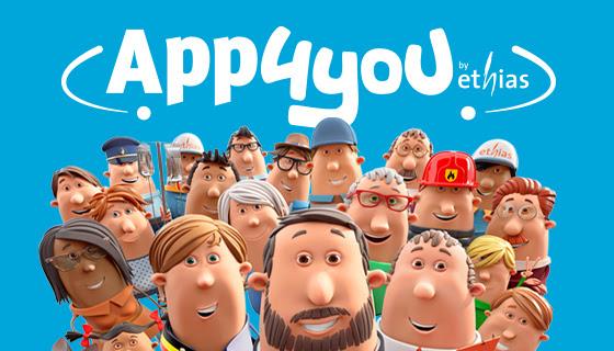 La compagnie d'assurance Ethias lance APP4YOU, une plateforme d'entraide où demander des services