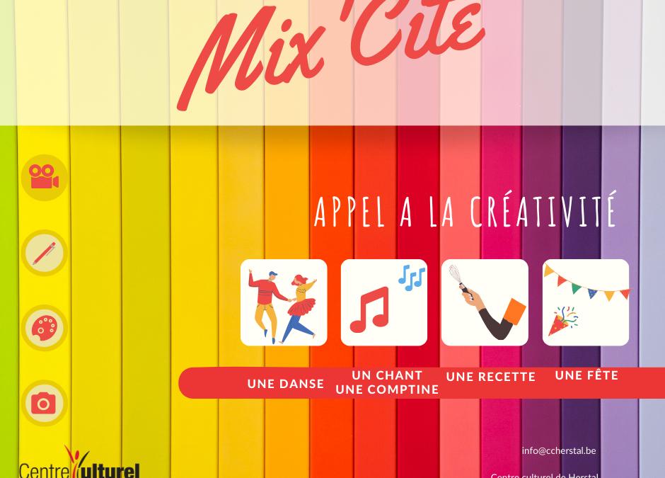 Agenda ► Herstal Mix'Cité – Appel à créativité