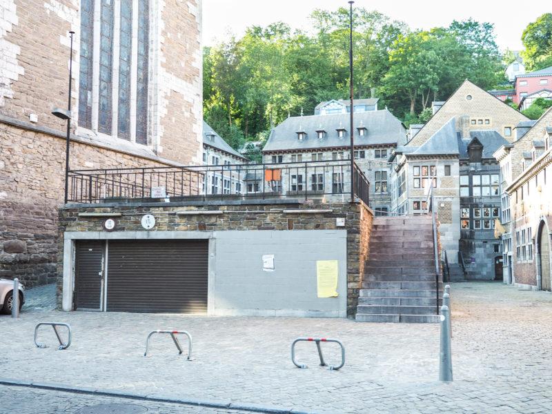 Nouveau parking de 50 places rue Hors-Château