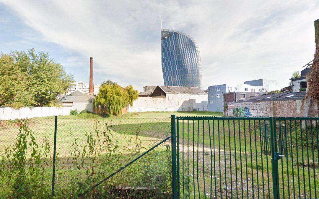 Nouveau projet immobilier de 54 appartements aux Guillemins