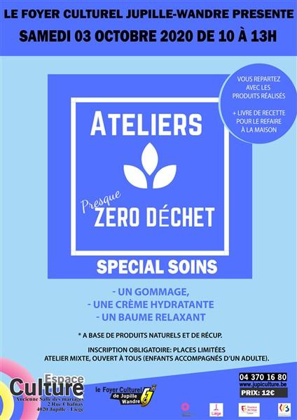 Agenda ► Atelier (Presque) Zero Déchets : Spécial Soins