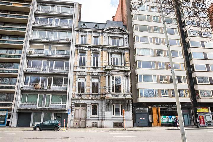 Un prestigieux hôtel de maître à vendre avenue Rogier