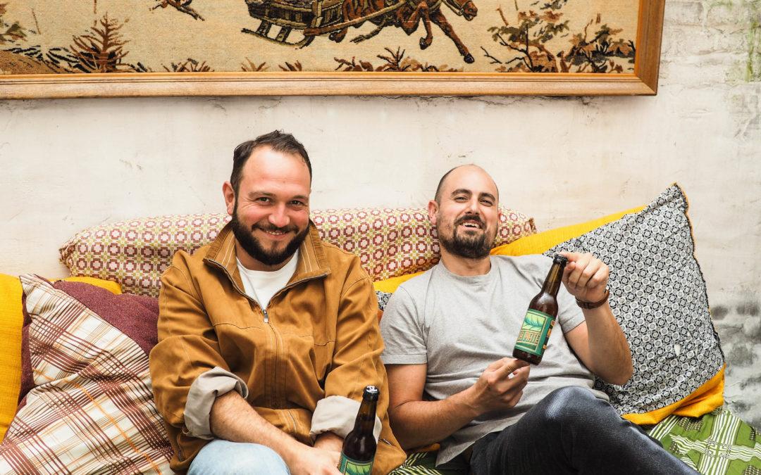 Avec les live, la bière du Kollectif Bunker risque de vous faire chavirer cet été