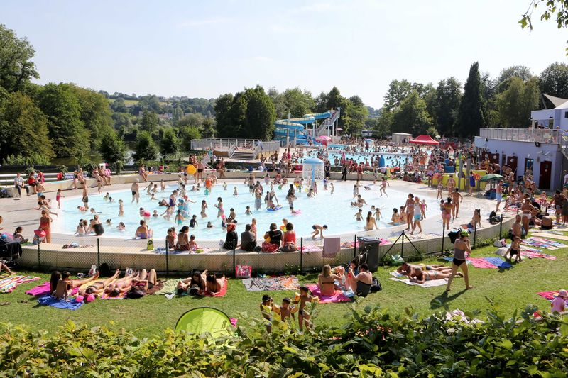 La piscine en plein air de Wégimont sera accessible ce week-end
