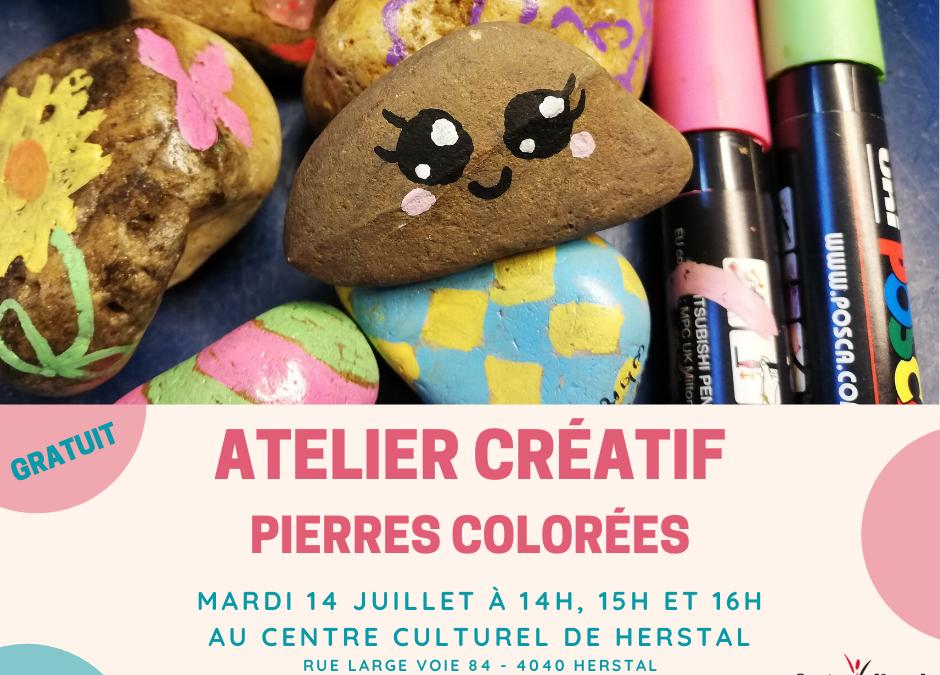 Agenda ► Atelier créatif Parent/Enfant – Pierres colorées – Gratuit
