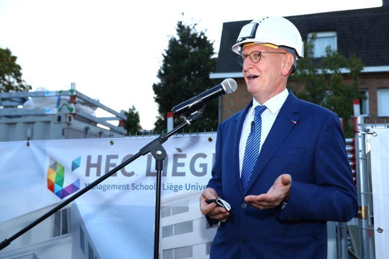 Un tout nouveau bâtiment de 15 millions d'euros pour HEC-Liège