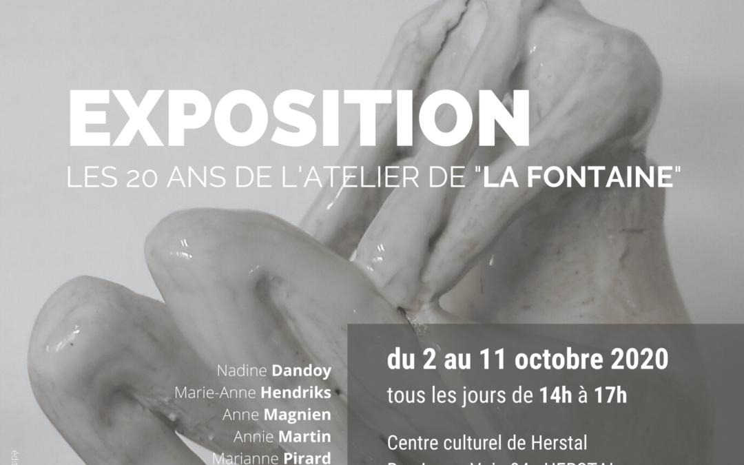 Agenda ► Exposition – Les 20 ans de l'Atelier de La Fontaine