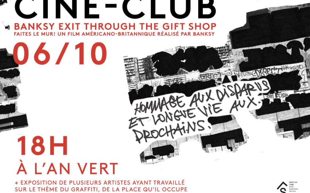 Agenda ► Ciné-club : Exit Through the Gift Shop
