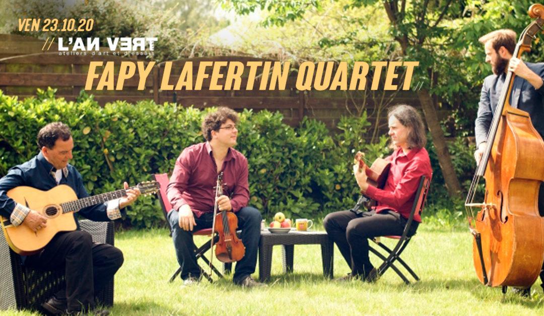 Agenda ► Fapy Lafertin Quartet