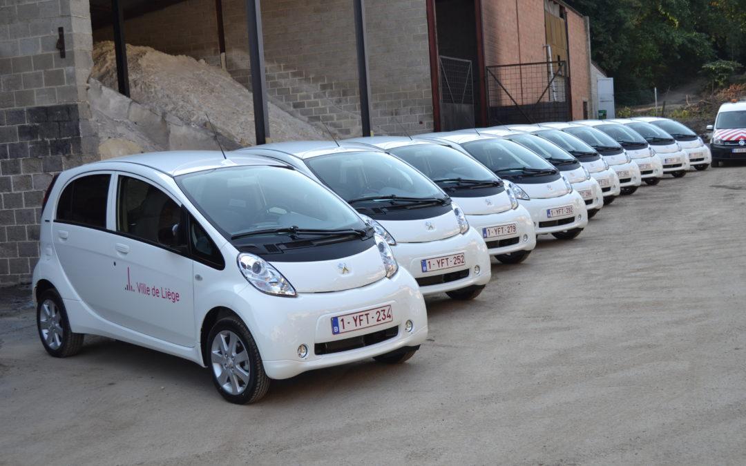 La Ville rachète une trentaine de véhicules électriques et au gaz CNG