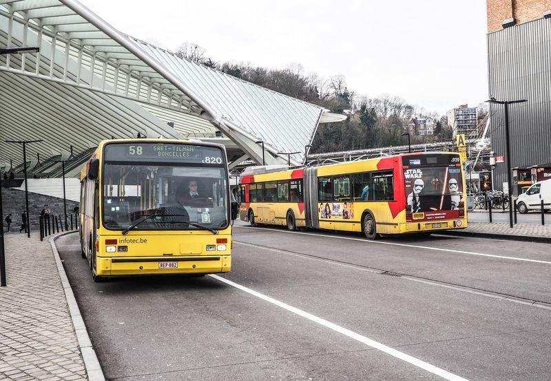 """Plan de réorganisation des bus TEC: """"l'aéroport est oublié et les connexions au train sont insuffisantes"""", plaide Urbagora"""