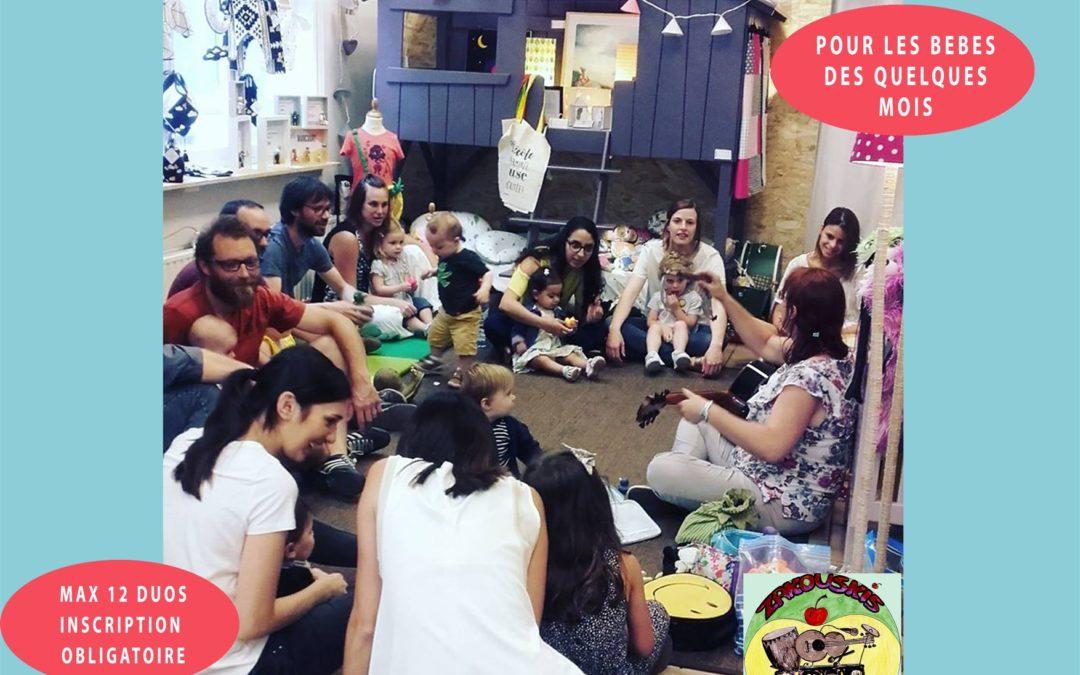 Agenda ► Atelier éveil musical pour tout petits