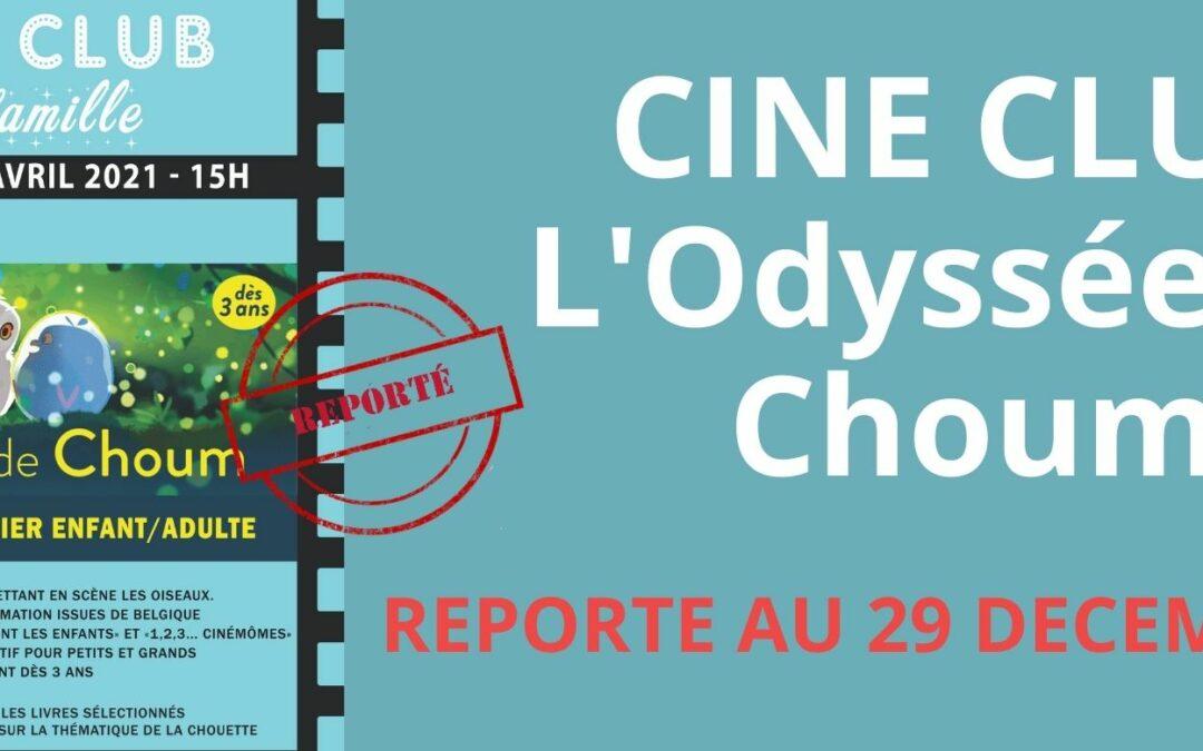 Agenda ► ciné club pour tout petits «L'odyssée de Choum» + atelier enfant/adulte