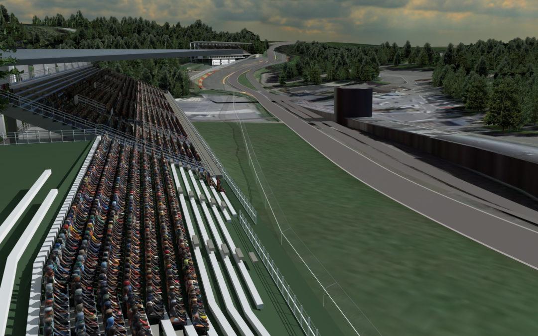 Le circuit de Spa-Francorchamps va doubler sa capacité d'accueil: 13.000 nouvelles places sont prévues