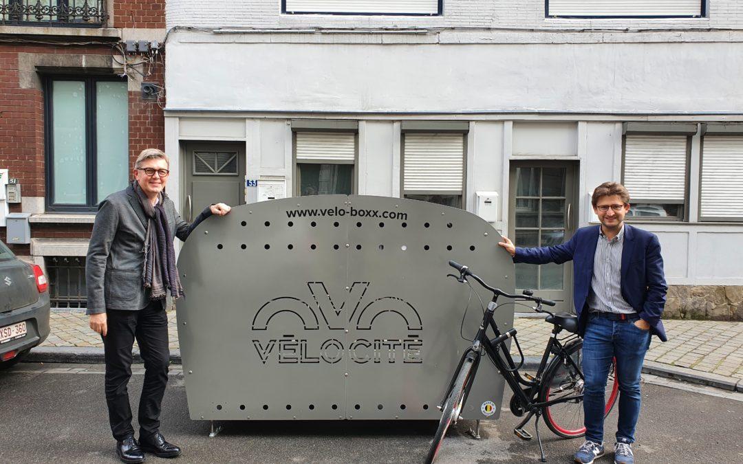 Lancement des abonnements pour les 13 premiers box vélos sécurisés