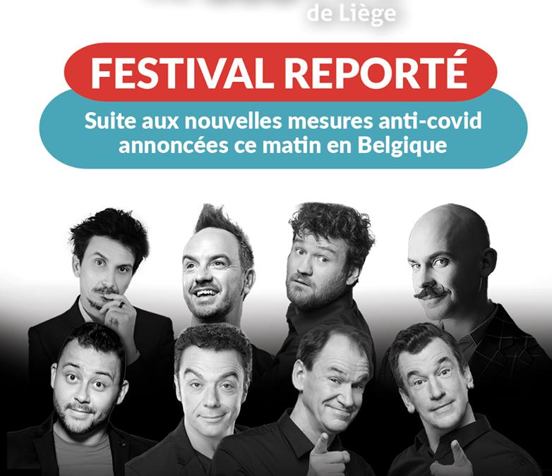 Les spectacles du Voo Rire festival reportés: l'édition 2020 n'a pas eu lieu