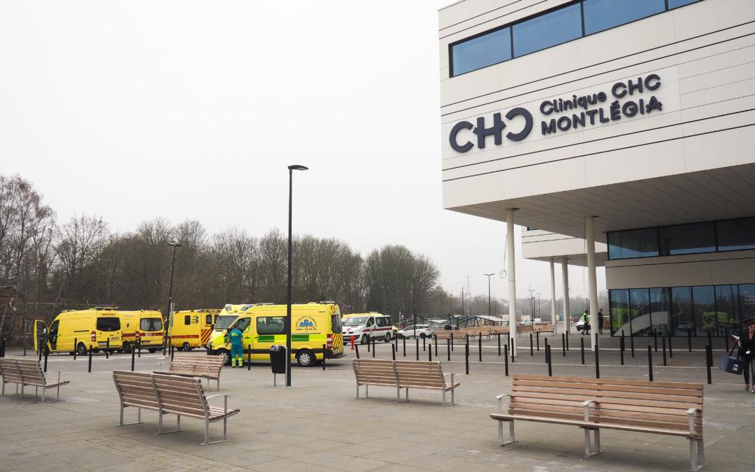 Covid: les hôpitaux liégeois sont déjà au bord de la saturation