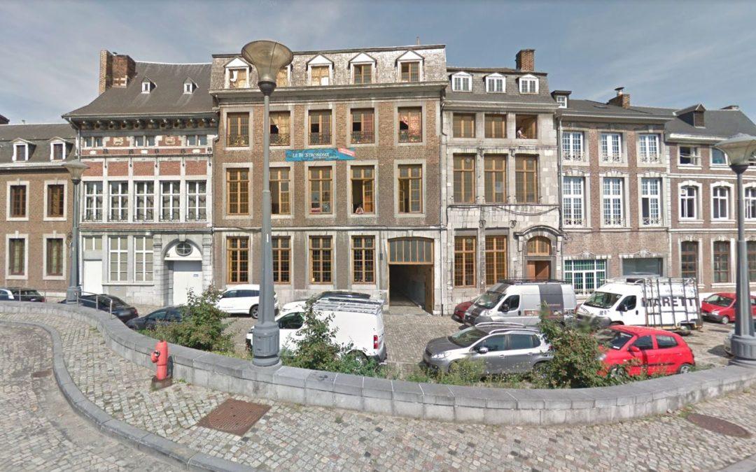 Rue Fond-Saint-Servais:  deux rénovations de maisons classées dans un quartier classé