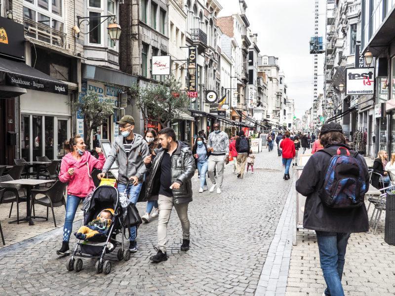 Liège est largement la plus peuplée des agglomérations wallonnes
