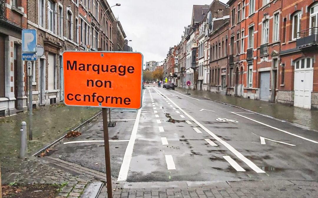 La mise à sens unique de la rue Maghin fait des mécontents dans le quartier Saint-Léonard