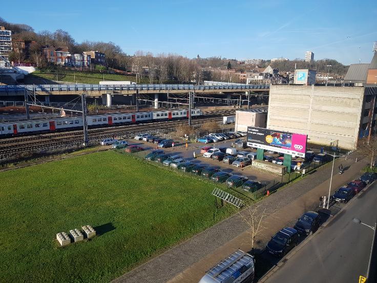 La SNCB cède un terrain juste à côté de la gare des Guillemins pour un futur projet immobilier