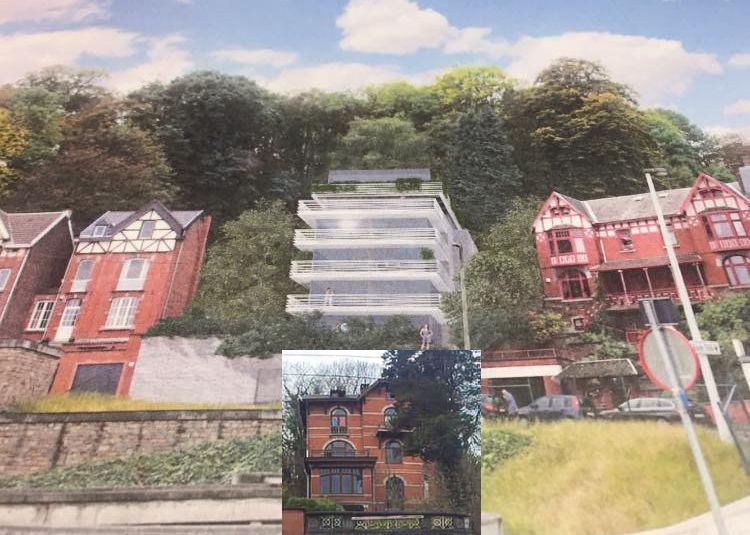 Avenue de l'Observatoire: un immeuble moche à la place d'une maison Belle Époque ?