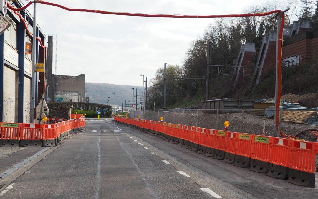 Val-Benoît: fermeture de la rue Ernest Solvay pour la reconstruction du pont des Tilleuls