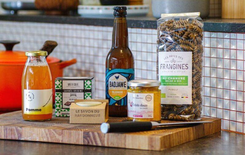 Bière, savon, jus, tartinade aux carottes… : un nouveau coffret cadeau pour soutenir l'artisanat bio local